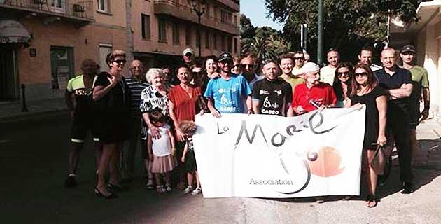 """"""" A strada di a sperenza"""" collecte 4 000 euros pour la Marie-Do"""