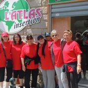 """Les femmes de l'association Atlas au """"Corsica tri'giru"""" à Porticcio"""