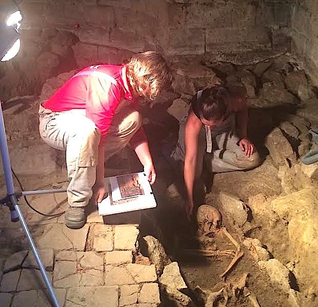 A la recherche du baptistère de San Ghjuva di Poghju di Tallà