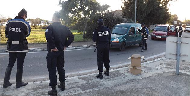 Corse-du-Sud : Contrôles routiers renforcés tout l'été