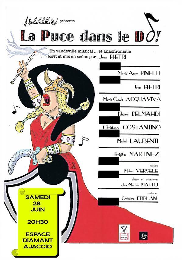 """Ajaccio  : """"La puce dans le do !"""" samedi à l'Espace Diamant"""