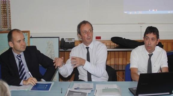 Alain Rousseau à Calvi pour soutenir le pacte de responsabilité et de solidarité