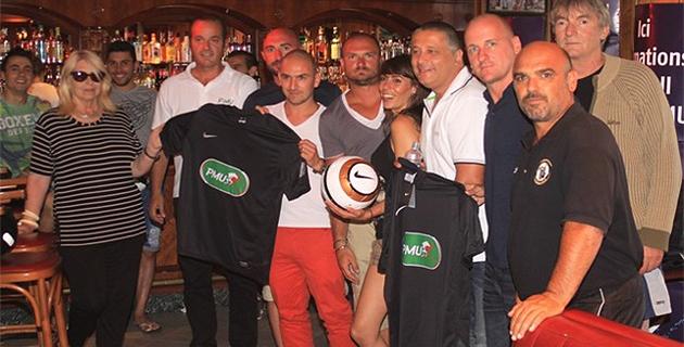 Le PMU récompense le FC Calvi, petit poucet régional de la coupe de France
