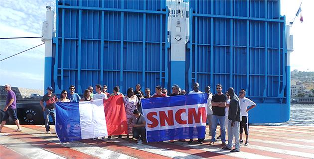 "SNCM : Les marins CGT retardent l'embarquement du ""Piana"" à Bastia et manifestent à Ajaccio"