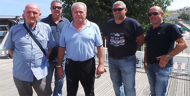 Les socioprofessionnels rassemblés autour de Jean-Marie Maurizi : Déterminés !