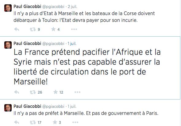 L'annulation du voyage de Marilyse Lebranchu et l'humeur de Paul Giacobbi…