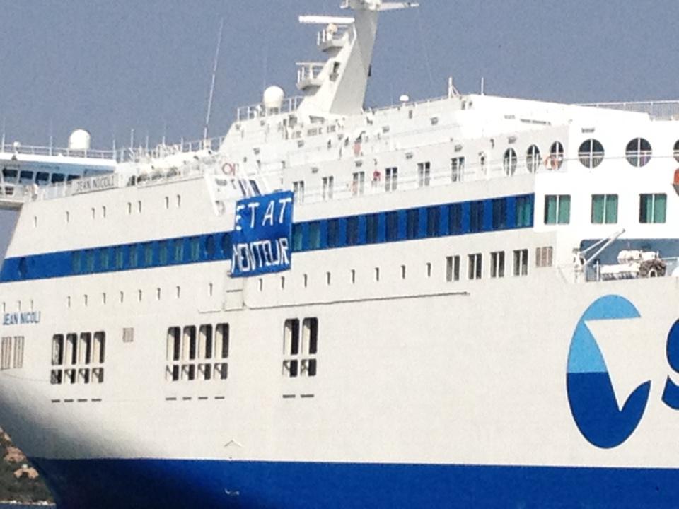 Incidents sur le port de Porto-Vecchio : Le Jean-Nicoli reprend la mer à destination de Marseille