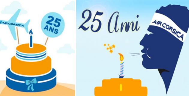 1989-2014 : Air Corsica fête ses 25 ans !