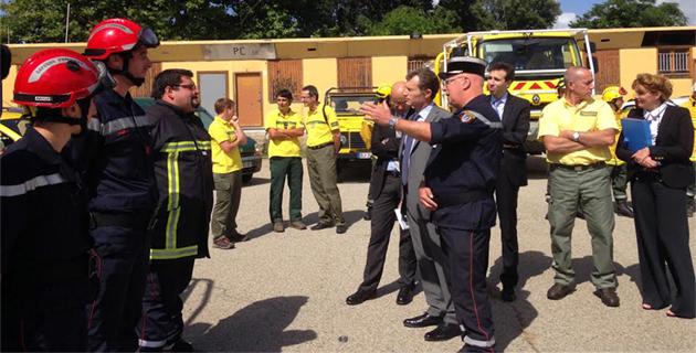 Lutte contre l'incendie en Corse-du-Sud : 2013, les meilleures statistiques depuis 2002