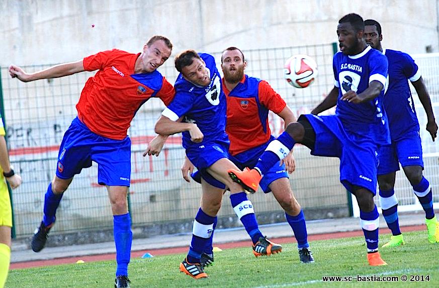 GFCA-Sporting en  match amical : Pas de buts à Corte