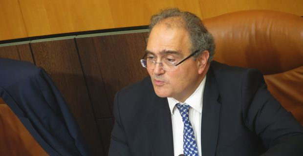 Paul Giacobbi, président du Conseil Exécutif de l'Assemblée de Corse.