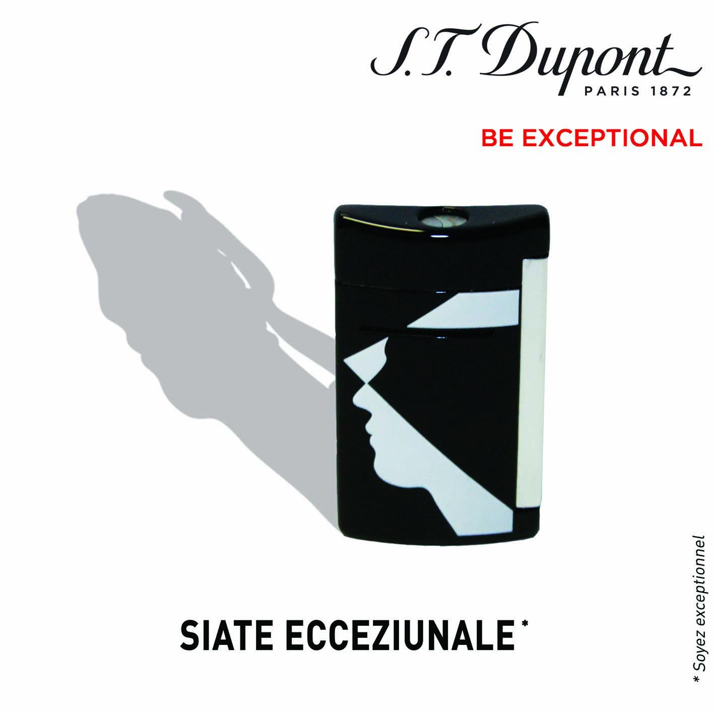Minijet Corsica : « Siate Ecceziunale » avec le briquet ST Dupont