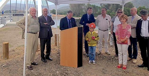 Le pont du Liamone inauguré : 10 millions d'euros et deux années de travaux pour de la belle ouvrage