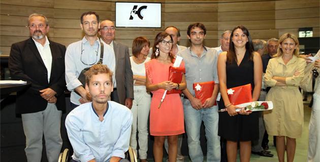 La Haute-Corse  récompense ses doctorants et bacheliers