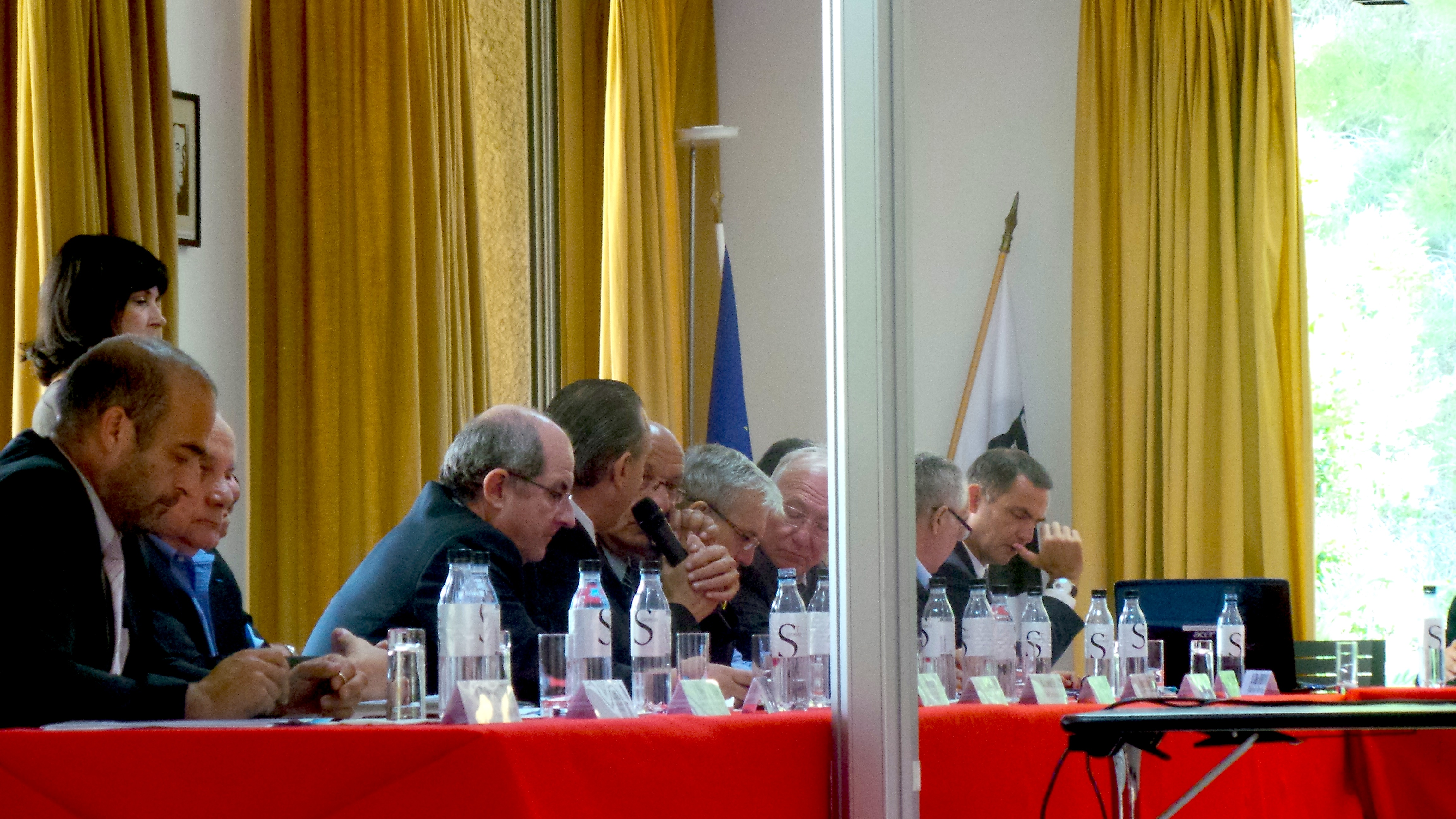 Bastia : Ségolène Royal a installé le comité de pilotage du parc marin du Cap Corse
