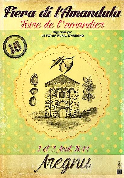 Aregnu : A « fiera di l'Amandulu » fête son dix-huitième anniversaire