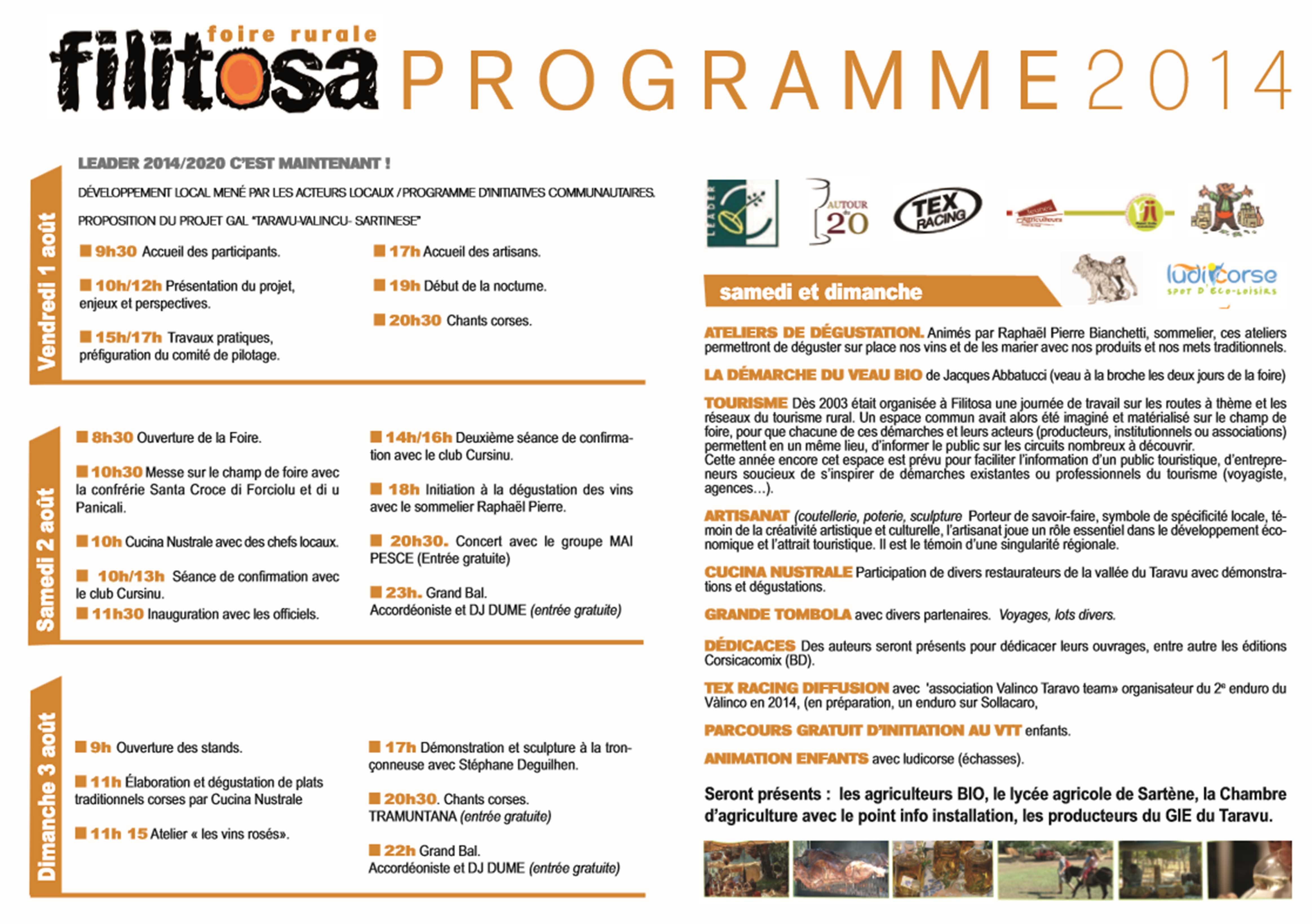 La 22ème foire artisanale et agricole de Filitosa dès vendredi