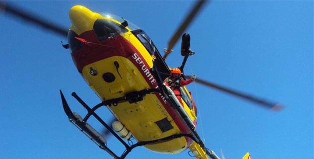 Porto : Les sauveteurs… sauvés par l'hélicoptère de la Sécurité civile
