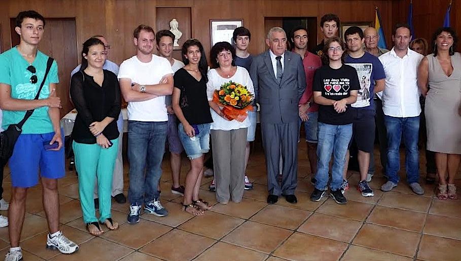 L'Ile-Rousse : Les bacheliers reçus à la mairie