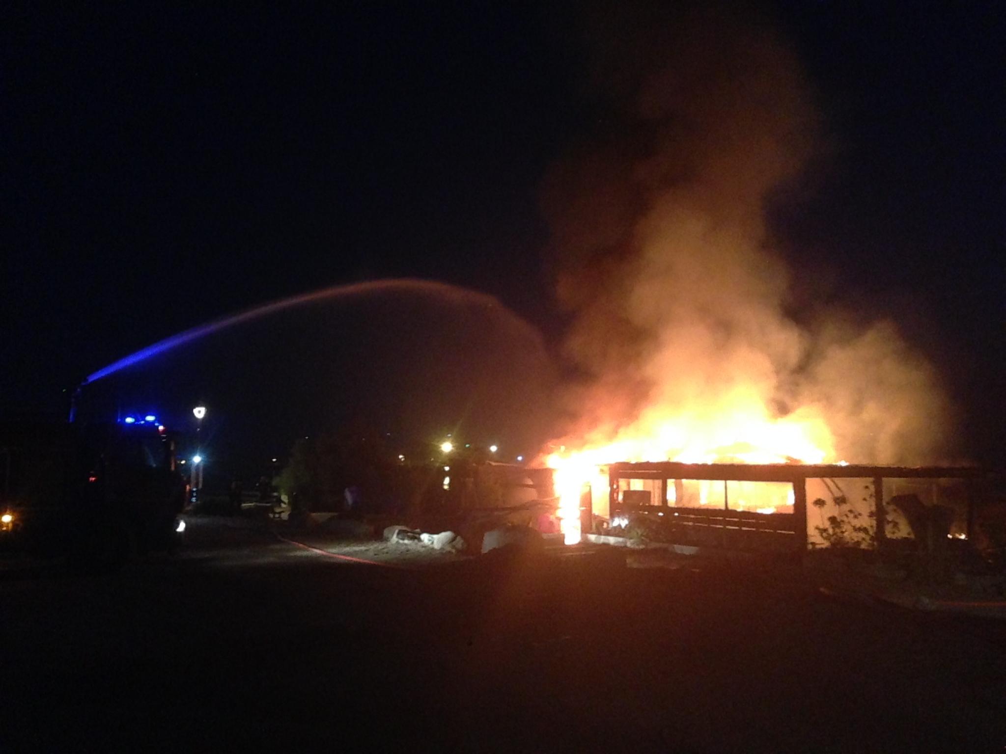 Après les incendies criminels : L'Ile-Rousse en état de choc