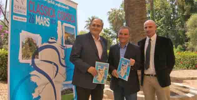 Paul Giacobbi, Bernard Hinault et Dumè Bozzi ont présenté la Classica Corsica