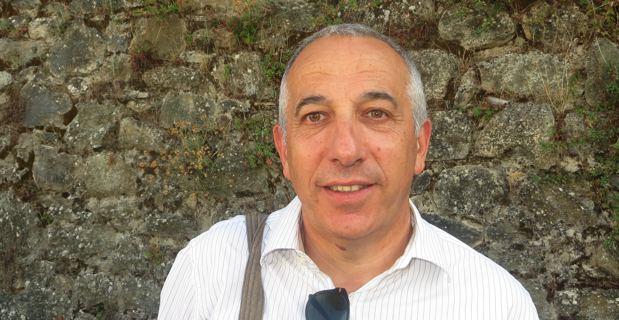 Pierre Ghionga, Conseiller exécutif en charge de la langue et de la culture corses, conseiller général de Corte et président de l'office de l'environnement, lors du débat, dimanche dernier, aux Ghjurnate di Corti.