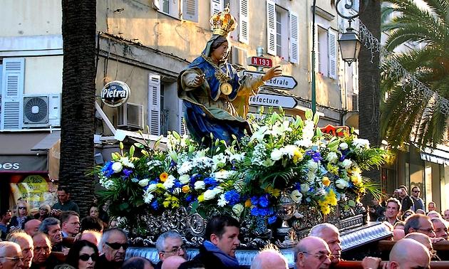 Après 1735 et 1935, l'Evêque renouvellera la consécration de la Corse à la Vierge-Marie les 7 et 8 septembre. Une grande fête aura lieu dans l'ensemble du diocèse à cette occasion. (Photo d'archive : Yannis-Christophe Garcia)