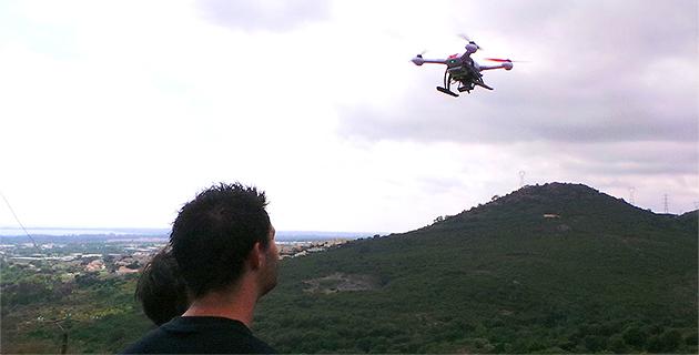 """Le Sdis de Haute-Corse """"teste"""" les drones…"""