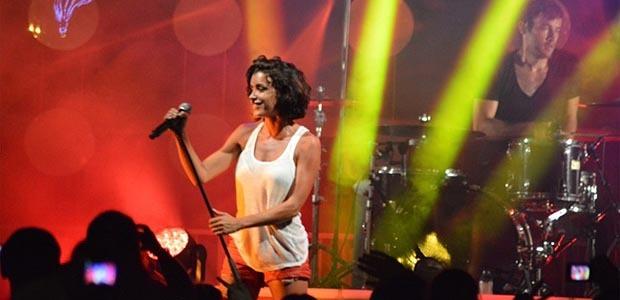 Jenifer en Août 2013 lors de son concert à Ajaccio