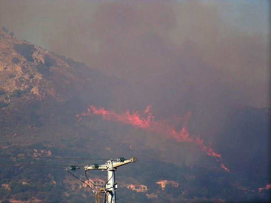 Santa Reparata di Balagna : 10 hectares déjà détruits par les flammes