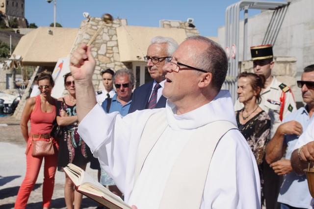 Thomas Dutronc parrain de la vedette SNS 128 « Notre-Dame de la Serra » de Calvi