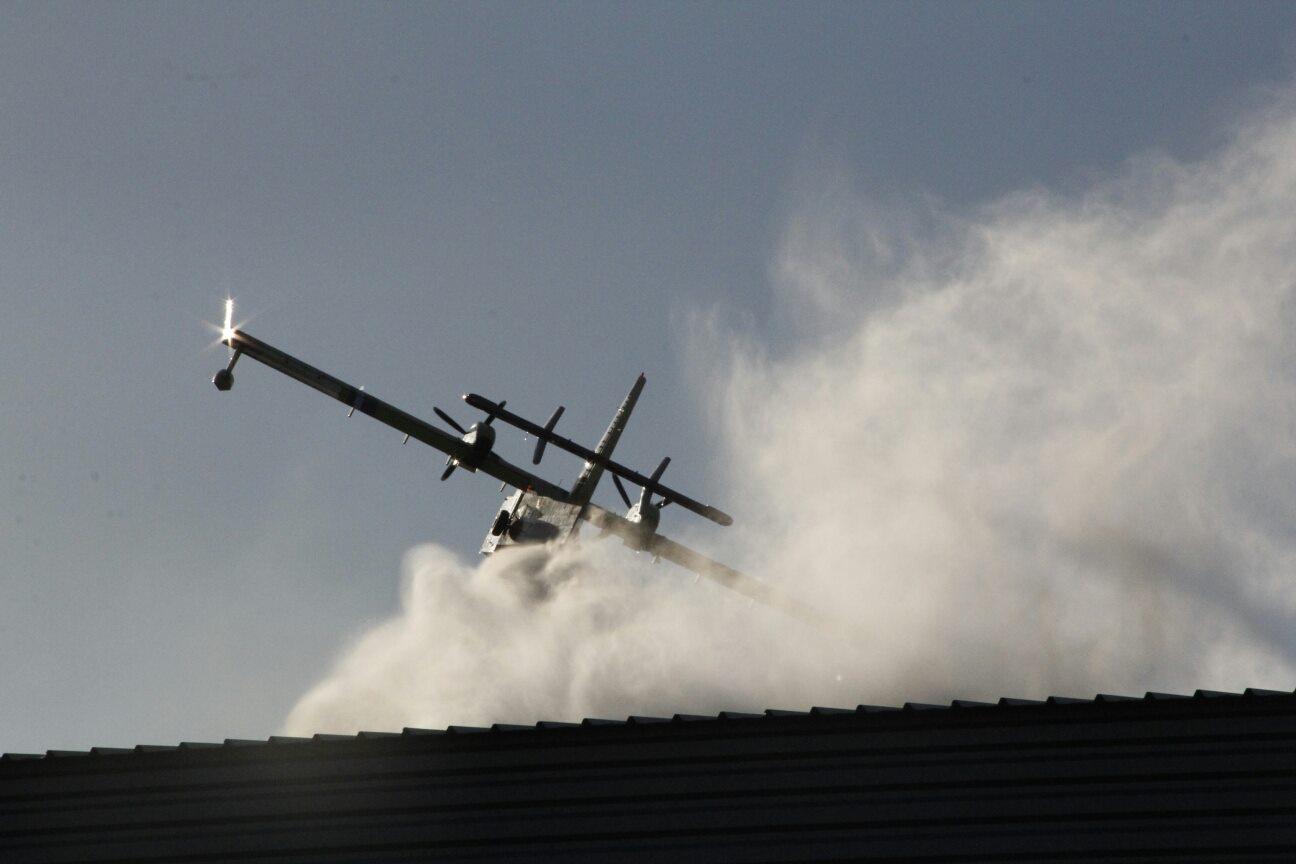 Porto-Vecchio : Le feu à la zone industrielle de Murtone