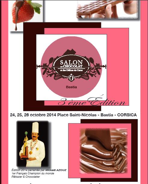 Bastia : Bientôt le Salon du chocolat !