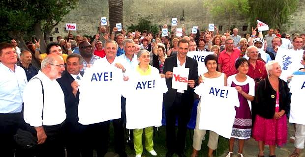 """R&PS : La motion finale apporte son soutien au """"processus d'affirmation des droits du peuple corse"""""""