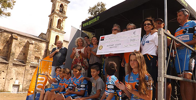 """Le succès au rendez-vous des """"boucles du Nebbiu"""" : 3 040€ au profit de la Ligue contre le cancer"""
