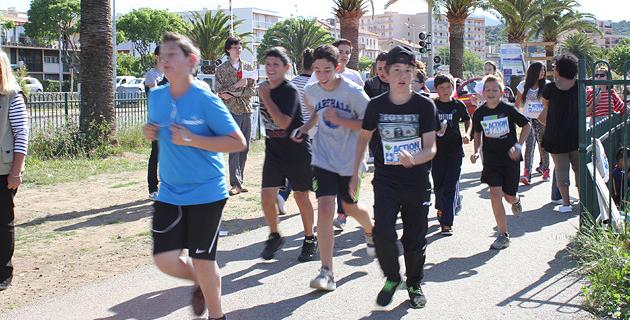 Les scolaires ajacciens avaient participé à la course au mois de Mai dernier