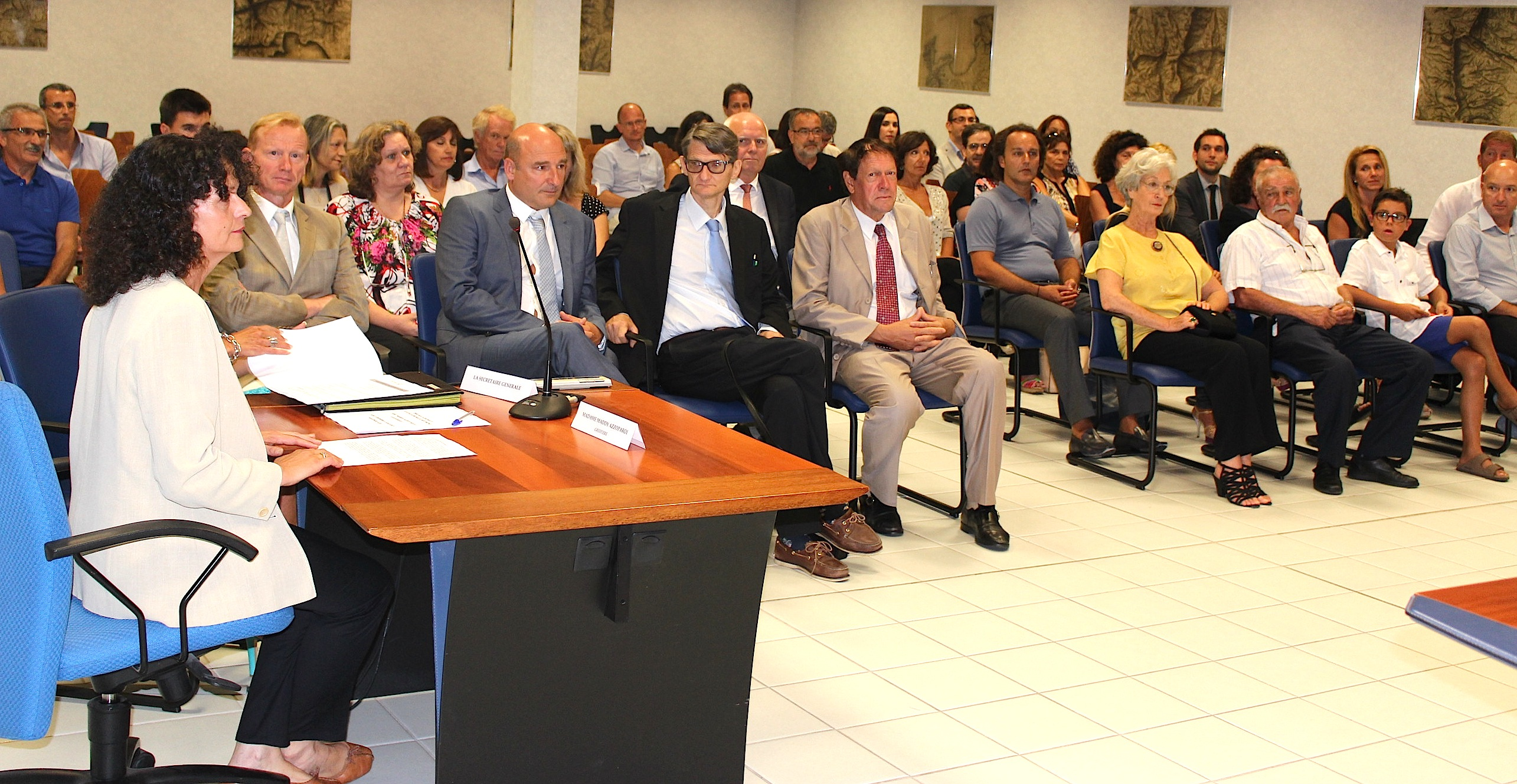 Bastia : Double prestation de serment et installation à la chambre régionale des comptes