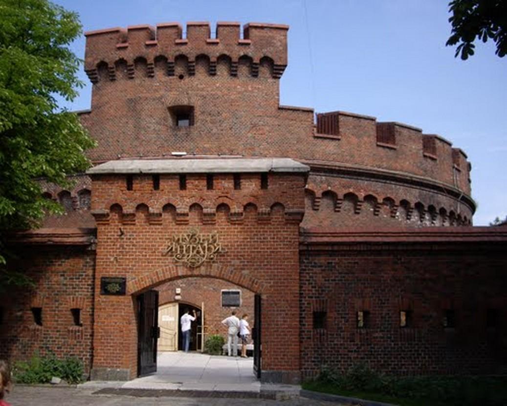 L'imposant Musée de l'Ambre Jaune de Kaliningrad