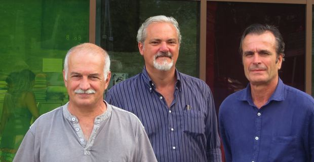 Jean Biancucci, maire de Cuttoli-Corticchiato et Maurizio Martinelli, fonctionnaire de la région Toscane en charge des musées.