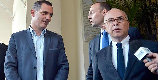 Les rapports entre Gilles Simeoni et Bernard Cazeneuve, déjà tièdes lors de leur rencontre à Bastia, se sont singulièrement refroidis