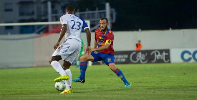 Poggi et le GFCA battus en début de match à Angers