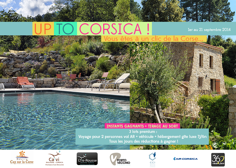 """Promouvoir la destination corse à travers l'opération """"Up to Corsica"""""""