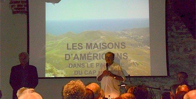 """Bastia : """"Les Maisons d'Américains dans le paysage du Cap Corse"""""""