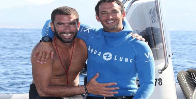 """Calvi : Stage de plongée en apnée avec le """"King"""" Pierre Frolla"""