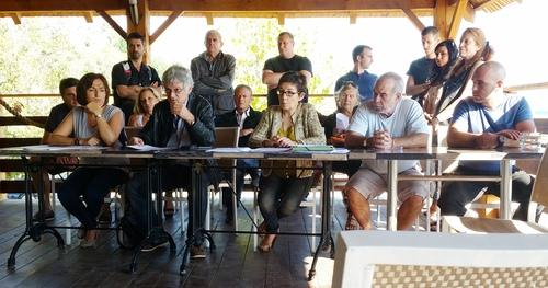 Un Alba Nova per Bastia contre le projet du port de la Carbonite.