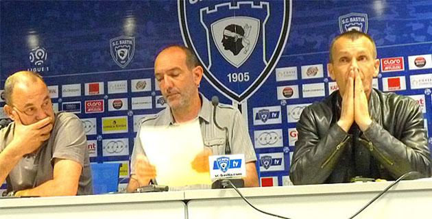 """Pierre-Marie Geronimi (Sporting) : """"L'image d'une équipe indigne de la Ligue 1"""""""