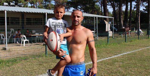 Andy et Ludo Conte : Le ballon ovale et Bastia XV en commun.