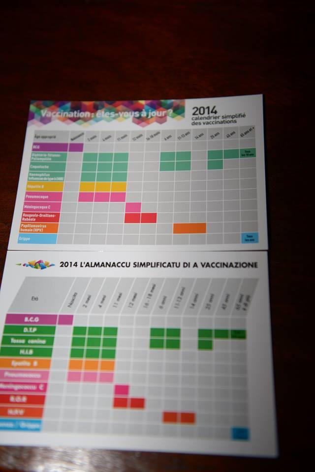 Corse-du-Sud : Un calendrier vaccinal bilingue pour les CM2