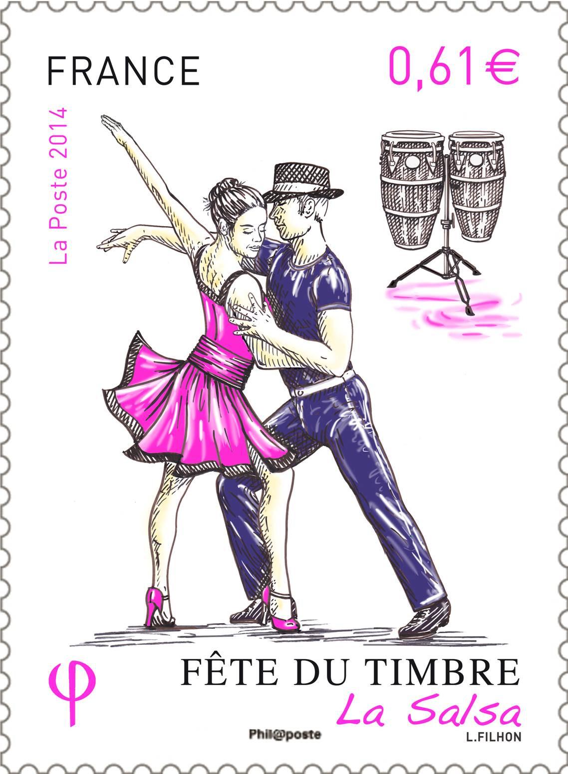 Fête du timbre 2014 à la gare ferroviaire d'Ajaccio