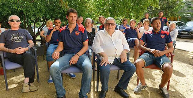 """Ajaccio : Les joueurs du GFCA invités de """"A Spannata"""" à la villa Isabelle"""